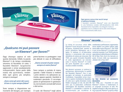 anagram design group | kleenex | Advertorials| Italien