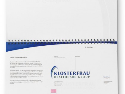 Klosterfrau Healthcare Group | Produktion CD-Manual
