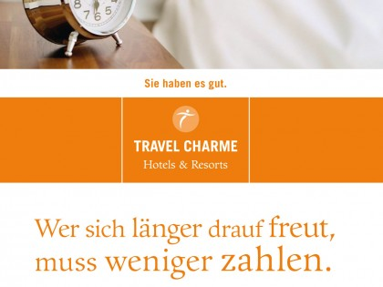 VSF&P GmbH | Travel Charme | Check-Out Flyer